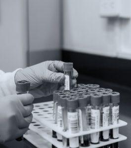 Coronavirus testing lab